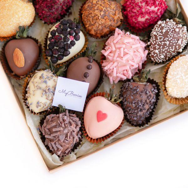 Клубника в шоколаде: Ассорти