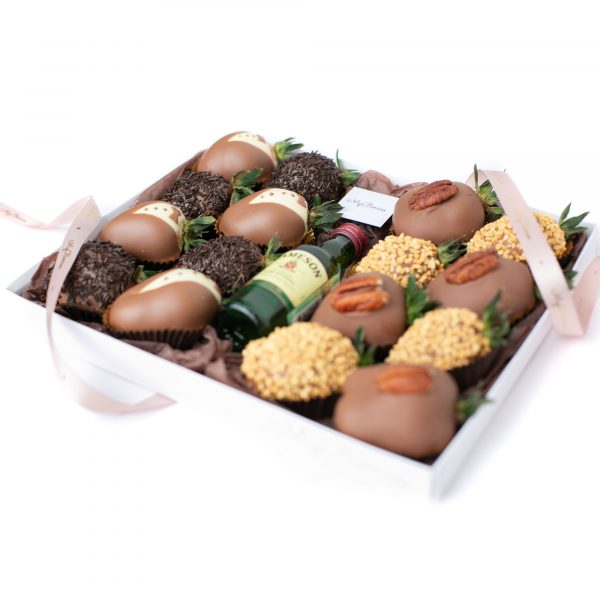 Набор клубники в шоколаде: мужчине