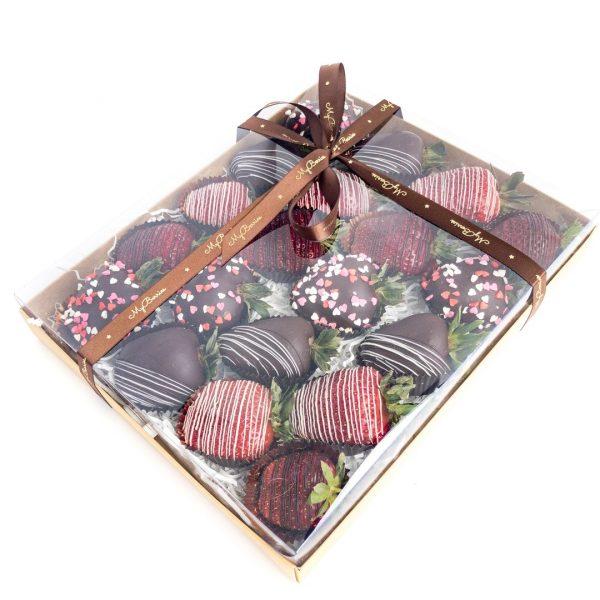 Набор клубники в шоколаде: lovely