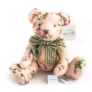 Винтажный мишка: розовый