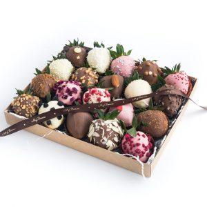 """Клубника в шоколаде: Набор """"Ассорти"""""""