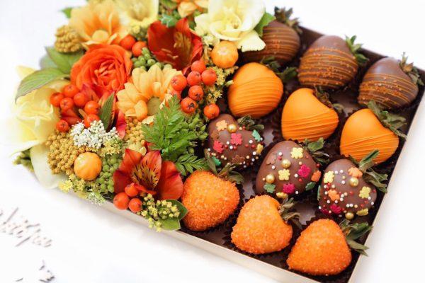 Набор клубники в шоколаде: 1 сентября