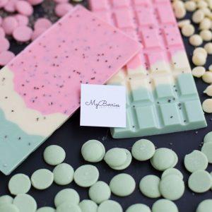 Шоколад ручной работы Арбузная долька