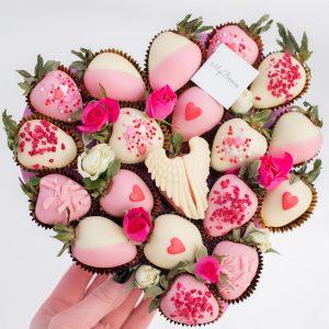 Сердце из ягод: мало половин