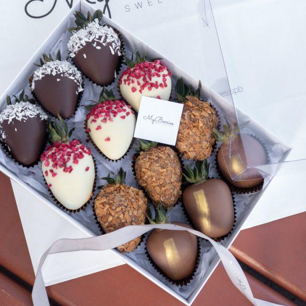 Набор клубники в шоколаде: Elle