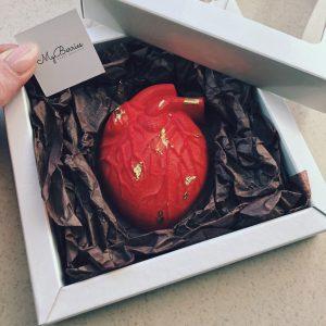 Шоколадное анатомическое сердце