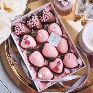 Набор клубники в шоколаде: LoveStory